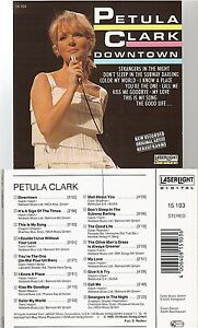 PETULA-CLARK-downtown-CD-ALBUM-compilation-label-laserlight