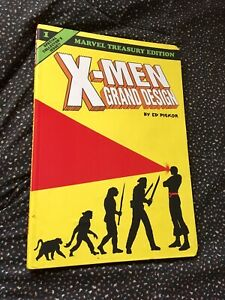 Xmen-Grand-Design-Vol-1-By-Ed-Piskor-Marvel-Book-Comic-Graphic-Novel-USED