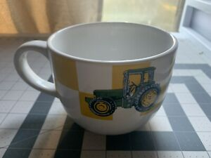 John Deere XL Mug Oversized 32oz Coffee Gibson Soup Bowl Large