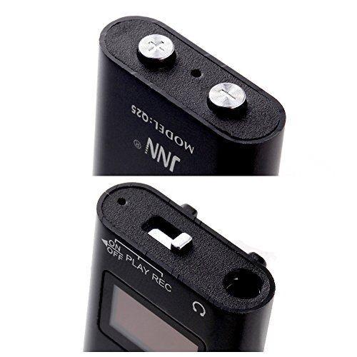 ULTRA MINI SUPER SENSITIVE SPY MICROPHONE 16GB DIGITAL VOICE RECORDER MP3 PLAYER