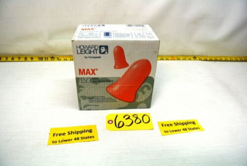 Howard Leight by Honeywell MAX Disposable Foam Earplugs MAX-5 250-Pairs
