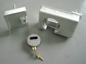 Details about Shipping Container Puck Lock Box & Fitted Lock, Very Heavy  Duty, High Security