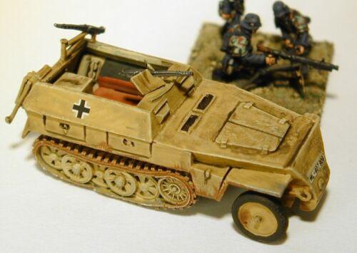 "SHQ GV131 1//76 Diecast WWII German 250//1 /""Neu Arte/"" Late Half-track 1943-45"