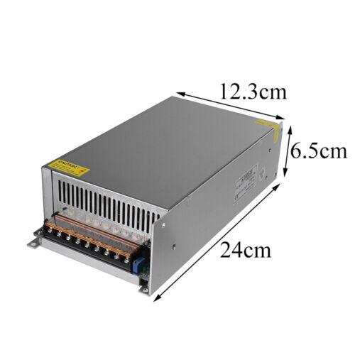 400//500//1000W AC110V-240V auf DC36//48V Trafo Netzteil Transformator Driver Strip