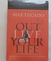 Max Lucado: Out Live Your Life (dvd- Based Small Group Kit) Fast Shipping