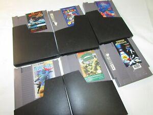 NES-Nintendo-Vintage-1980s-Game-Lot-Tetris-Burgertime-Super-C-and-More-CL