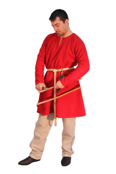 Medieval Celtic Viking Tunic Full Sleeves renaissance shirt SCA /.