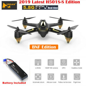 Hubsan H501S S X4 5.8G FPV Drone Brushless GPS 1080P...