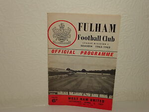 FULHAM    V    WEST HAM UNITED        19611962     Div1    match - <span itemprop=availableAtOrFrom>london, London, United Kingdom</span> - FULHAM    V    WEST HAM UNITED        19611962     Div1    match - london, London, United Kingdom