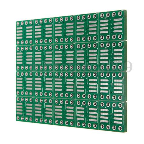 20 PCS SOP8 SO8 SOIC8 SMD to DIP8 Adapter PCB Board Convertor Double Sides