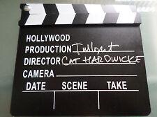 CATHERINE HARDWICKE SIGNED TWILIGHT MOVIE DIRECTOR CLAP BOARD W/ COA THIRTEEN