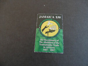 JAMAICA-2007-SG-1135-BICENT-OF-ABOLITION-OF-THE-TRADE-IN-AFRICANS-MNH