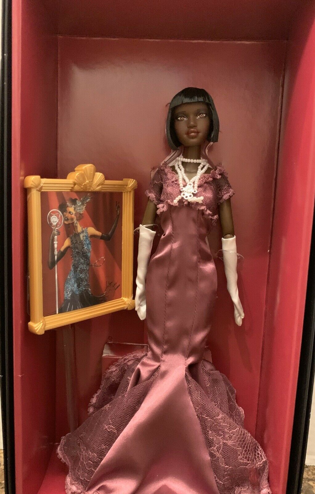 HARLEM THEATER COLLECTION BARBIE SELMA DUPAR JAMES Gold COLLECTION