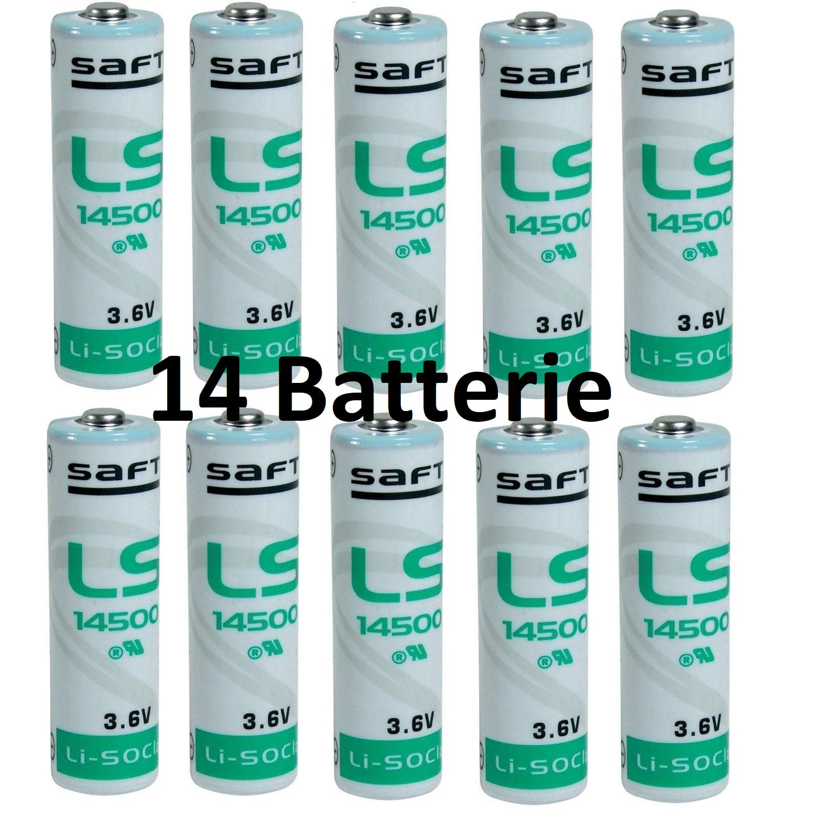 14 SAFT batteries Lithium Li