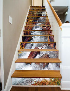 3D-River-Rocks-6-Stair-Risers-Decoration-Photo-Mural-Vinyl-Decal-Wallpaper-UK
