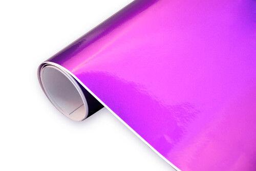 PREMIUM 10 €//m² High Gloss Metallic Foil-Car Film Bubble Free GLOSS NEW