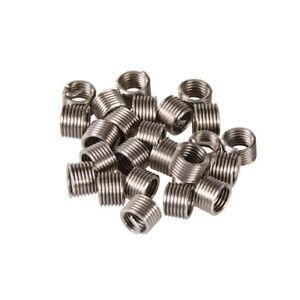 Details about Helicoil Type Thread Inserts M5 M6 M8 M10 M12 Thread Repair  Car Auto Garage