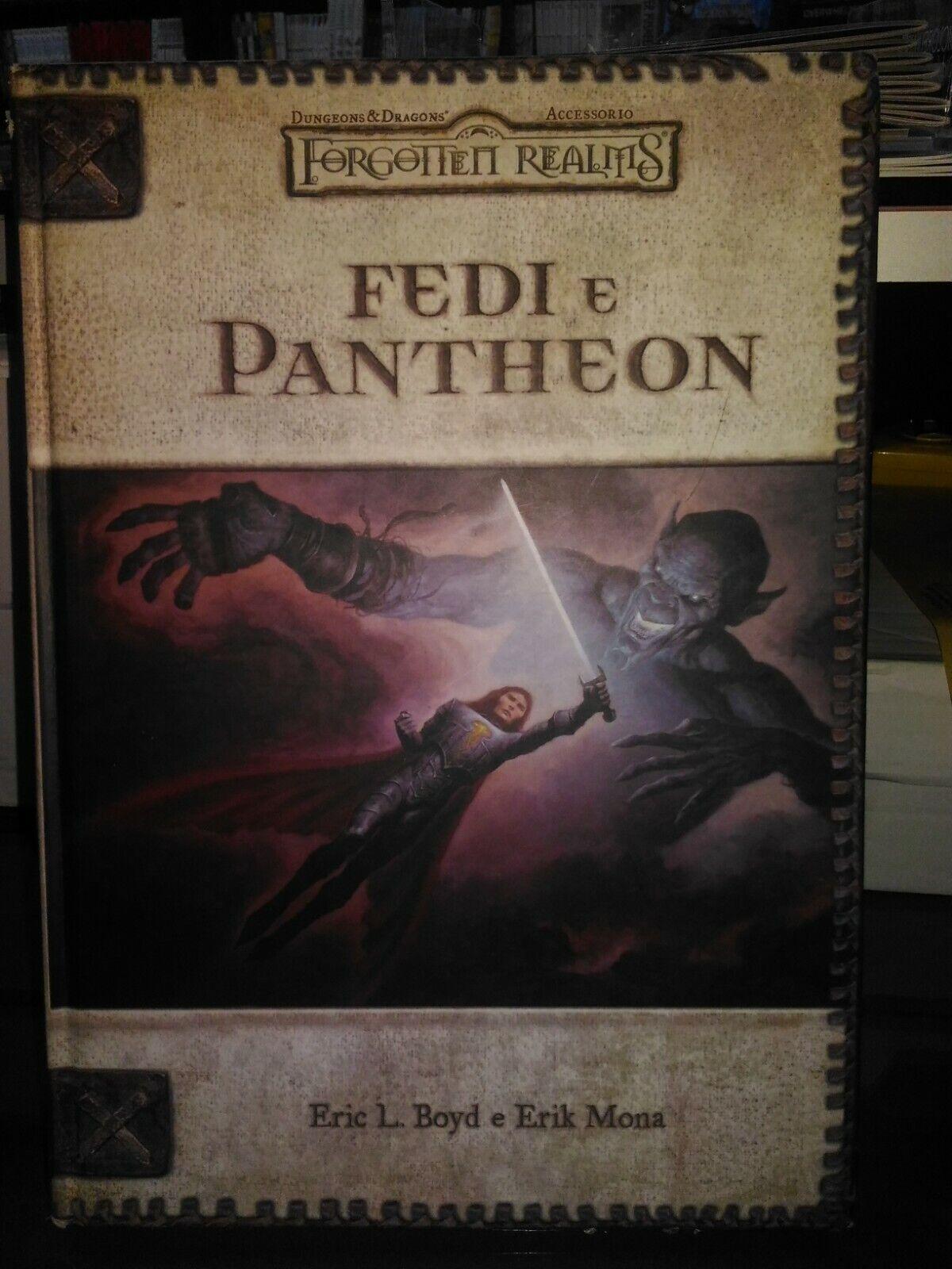 DUNGEONS & DRAGONS FORGOTTEN REALMS FEDI E PANTHEON TWENTY  FIVE edizione  spedizione gratuita in tutto il mondo