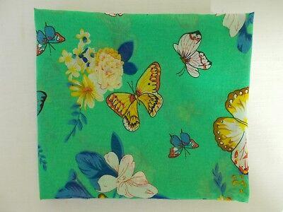 * Süß Rundschal Loop Schmetterlinge Luftig Schal Tuch 2 X 80 Rund X 70 Cm *