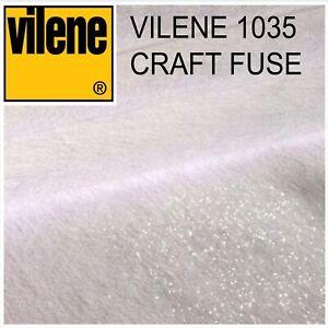 Vilene 1035 Craft Fuse Medium Iron-on Interfacing - per metre