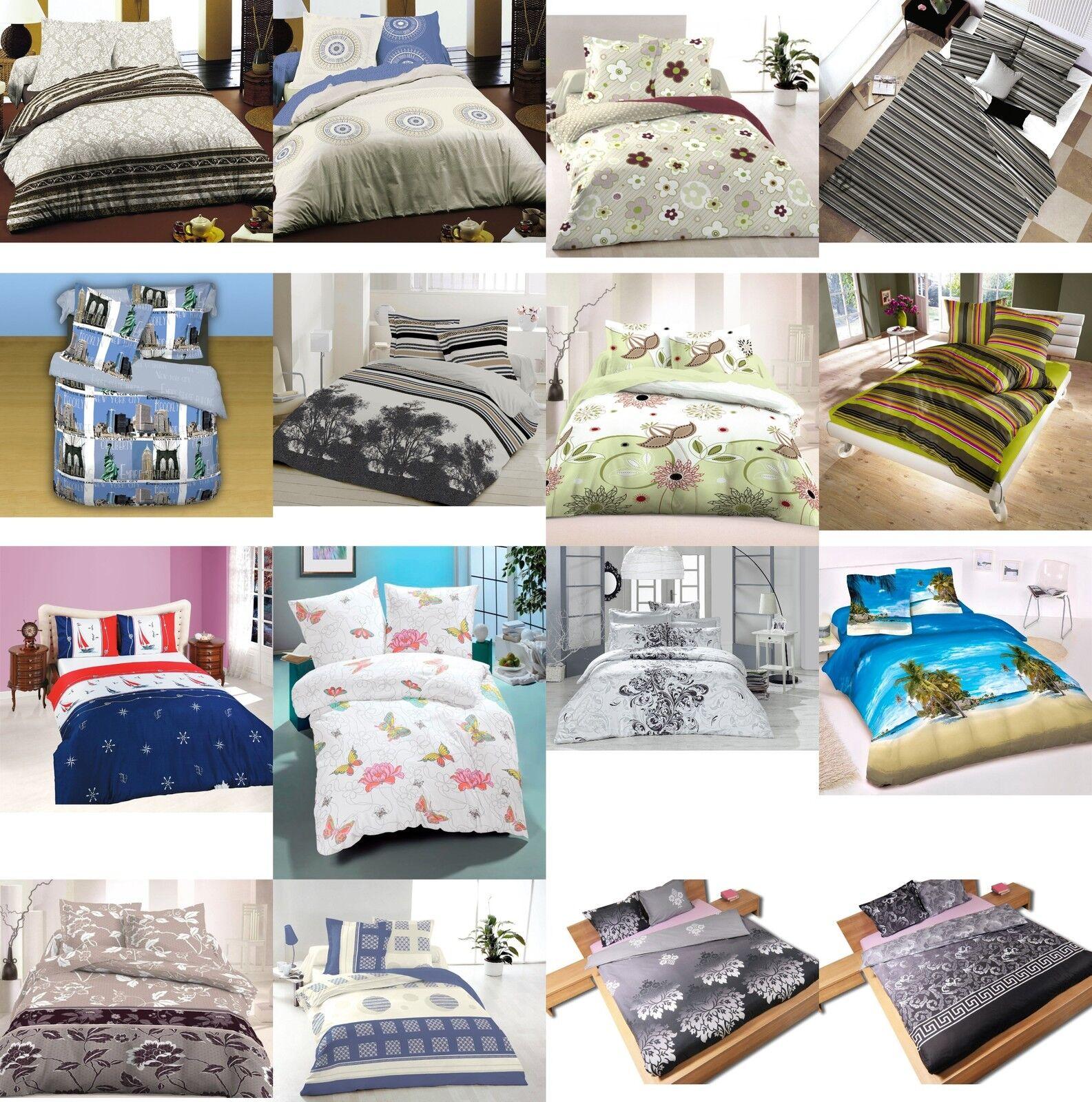 ThreeL 100% Cotton Bedding set Bed Linen Duvet Cover set