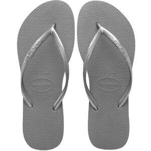 Silver Slim Flip Flops - 5178 Havaianas eLK5Et