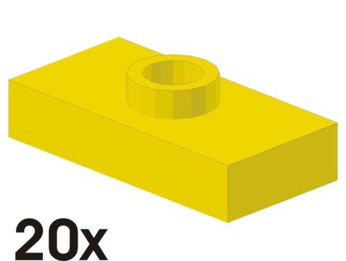 352 15573 NEUE Konverterplatten 1x2 in gelb 20 St