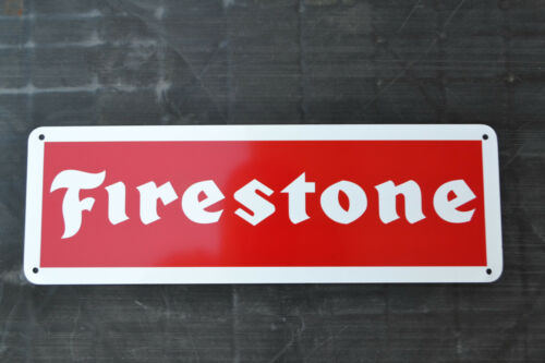 FIRESTONE TIRE SIGN Logo Shop Mechanic Store Garage Service Center AD