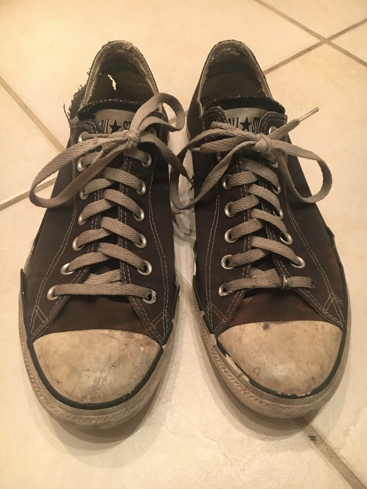 Converse Old used worn Collector Series