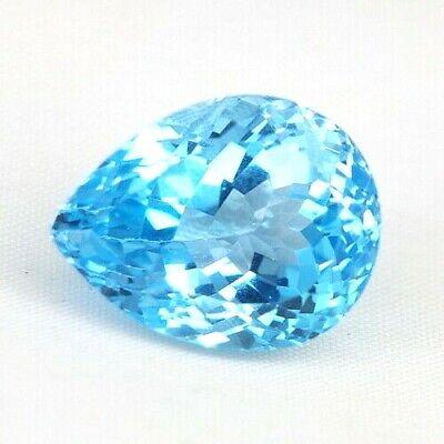 Top Big Topaz : 32,18 Ct Natürliche Blau Topas Aus Brasilien