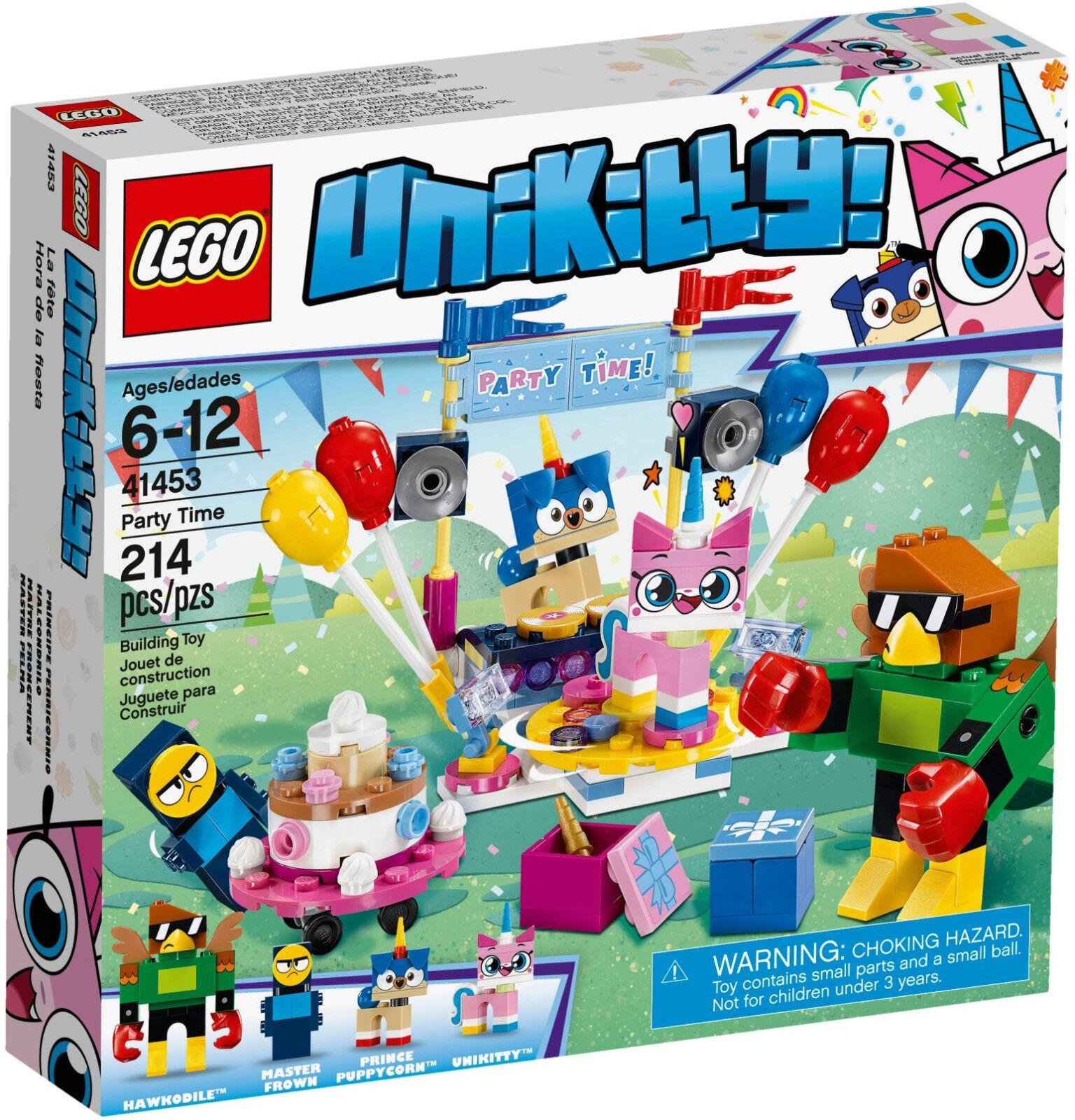 LEGO Unikitty - 41453 Partyspaß / Party Time mit Puppycorn & Hawkodile - Neu OVP