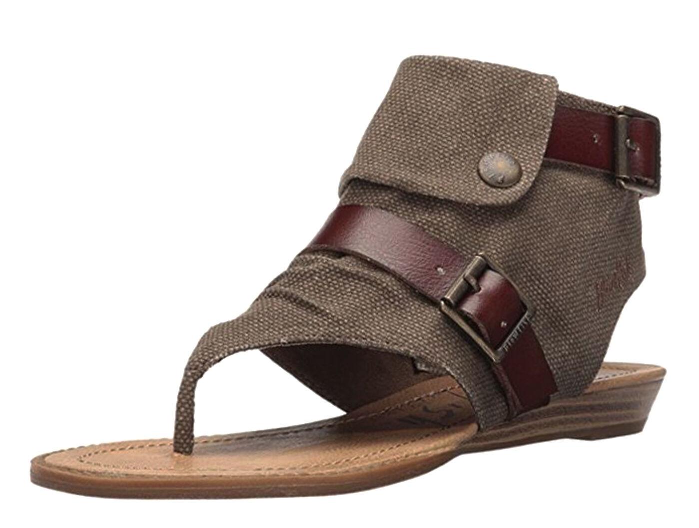 Blaume NEW Blowfish braun heel 3 8 UK sandals fashion wedge