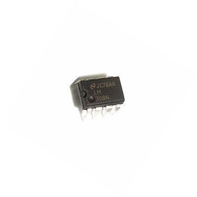 2PCS nuevo LM308N LM308 308N DIP-8 T8 nuevo amplificadores operacionales IC