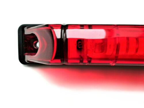 Profilo LED lampada luce di posizione Anteriore Posizione Lampada ROSSO CAMION RIMORCHIO AUTO e9
