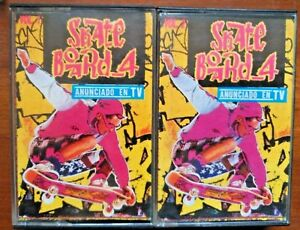 Recopilatorio-Skate-Board4-2-Casettes-Recopilatorio-Musica-Dance-vol1-vol2