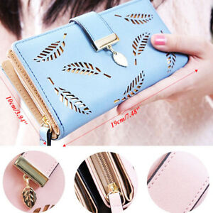 Fashion-Women-Bifold-Wallet-Leather-Clutch-Card-Holder-Purse-Lady-Long-Handbag-Y