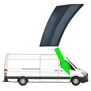 VW Crafter MWB Plastic Protective Side Moulding Strip Trim O//S 2006-2015
