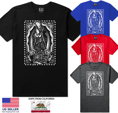 Our Mother of Guadalupe Virgin Mary Our Lady Catholic T Shirt All sizes S-5XL