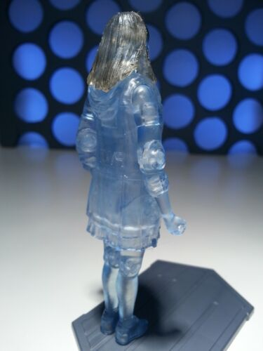 """Doctor Who Clara Oswald 11th Dr compagnon Hologramme Holographique 3.75/"""" FIGURE"""