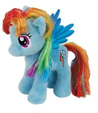 "Ty Beanie Babies 7"" Plush MY LITTLE PONY RAINBOW DASH (WINGS) ~NEW 2015~"
