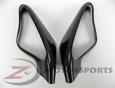 Ducati 848 1098 1198 Mirrors Mirror Cover Panel Cowl Fairing 100% Carbon Fiber