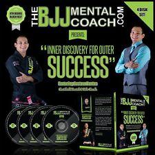 The BJJ Mental Coach Mental Preparation for BJJ Competitions DVD Set (50% OFF!)
