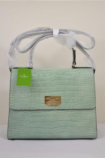 kate spade knightsbridge doris leather satchel dustymint for sale online ebay. Black Bedroom Furniture Sets. Home Design Ideas