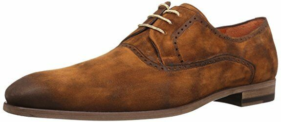 Mezlan Men's Euclid Tan Suede Oxford Dress shoes 10.5 NEW IN BOX
