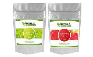 60 Raspberry Ketone amp 60 Green Tea Extract Detox Diet Weight Loss Pills Capsules - Pontefract, United Kingdom - Returns accepted - Pontefract, United Kingdom