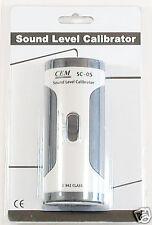 Sc 05 Industrial Sound Level Meter Mic Calibrator 94 114 Db Iec 942 Class 2 New