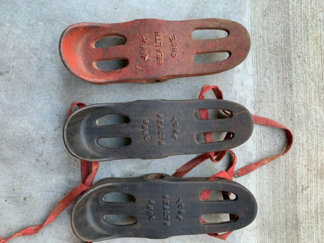 Vintage YORK BARBELL Health Shoes 3 total
