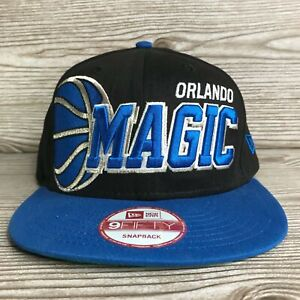 ORLANDO MAGIC SPELL OUT SCRIPT LOGO NEW ERA 9FIFTY SNAPBACK BASKETBALL HAT CAP