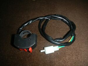 s l300 3 new run stop on off flip kill switch 1970 1978 honda atc90