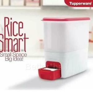 Image Is Loading Tupperware New Smart Rice Dispenser Keeper Storage Ships